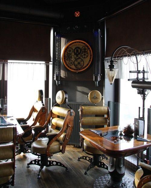 25 best ideas about steampunk interior on pinterest for Industrial punk design