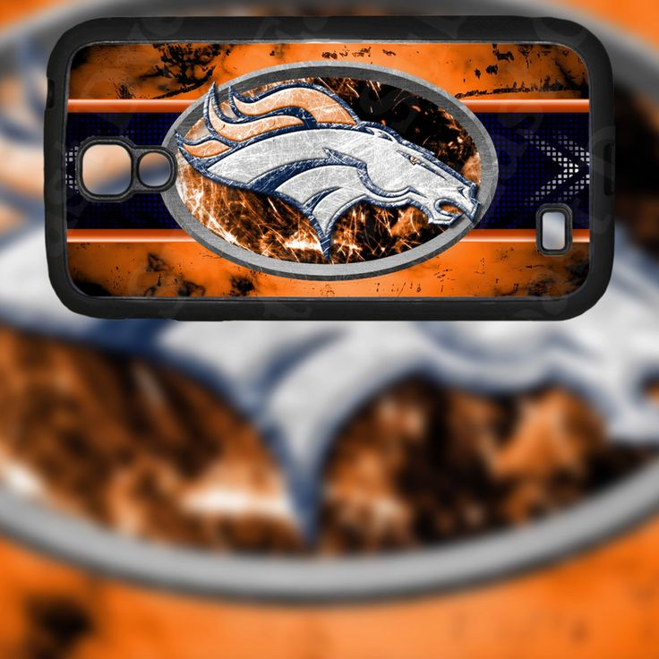 Denver Broncos Horse Design on Samsung Galaxy S4 Black Rubber Silicone Case by EastCoastDyeSub on Etsy https://www.etsy.com/listing/171912999/denver-broncos-horse-design-on-samsung