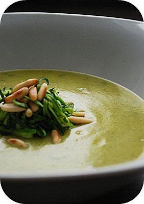 Zucchini-Kartoffel-Suppe