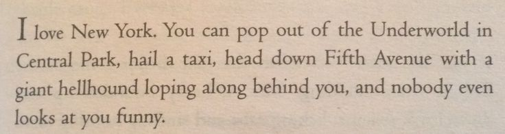 Pretty much Percy Jackson summarized in a couple sentences from The Last Olympian