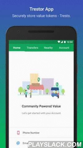 """Trestor  Android App - playslack.com ,  This app lets you store Trests and manage your Trestor Account.Trestor is a tech company which enables the urban households to transform into smart communities establishing their own organic food, power their own intranet and earn """"trests"""" which are tokens given by Trestor for becoming a part of our network and incentivise their contributions in initiating change around their homes. Deze app laat je Trests opslaan en beheren van uw…"""