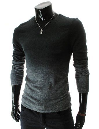 Gradient Sweater... Andrew could pull this off :)