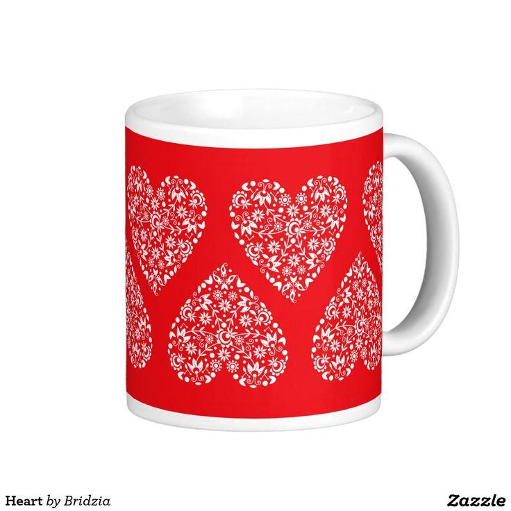 Heart Classic White Coffee Mug
