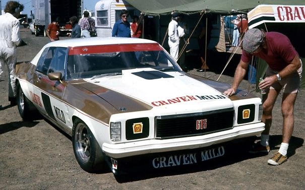 """Australian Muscle!. Pete Geoghegan's 1975 Holden HJ Monaro """"GTS"""" Sports Coupe. Fitted with a 350 Chevy V/8 Engine. Shannons Club."""