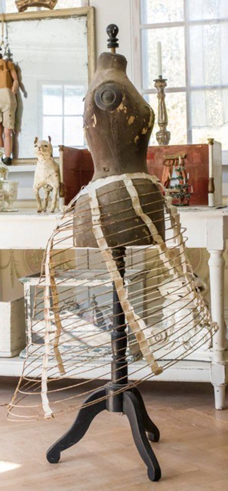 antique dress form