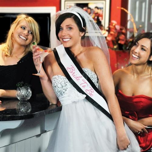 Bride To Be Bachelorette Sash Veil Set