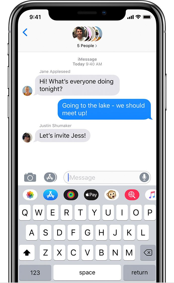 Send A Group Text Message On Your Iphone Ipad Or Ipod Touch Group Chat Names Text Messages Chat