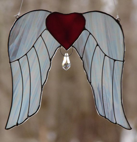 Angel Wings by theglassmenagerie on Etsy, $16.00