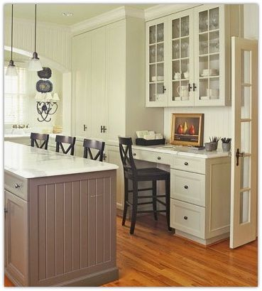 Best 20 kitchen desk areas ideas on pinterest kitchen for Desk in kitchen ideas