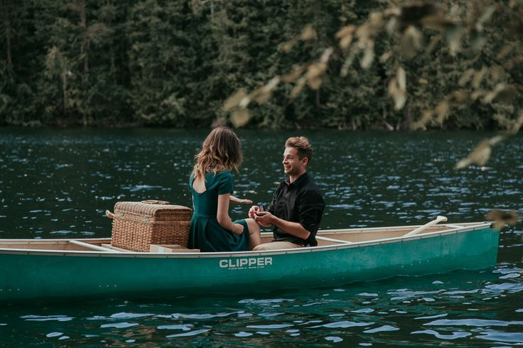Ryan & Jordan's Mountain Lake Canoe Proposal!Rocky Mountain Lake Wedding Proposal in a Canoe - Engagement in the Rocky Mountains http://tailoredfitphotography.com/engagement-photography/kelowna-engagement-photography/canoe-wedding-proposal/ #amazingproposalideas #amazingweddingproposal #canadianweddingphotographers #canoeengagement #canoeengagementphotography #canoeproposal #canoewedding...