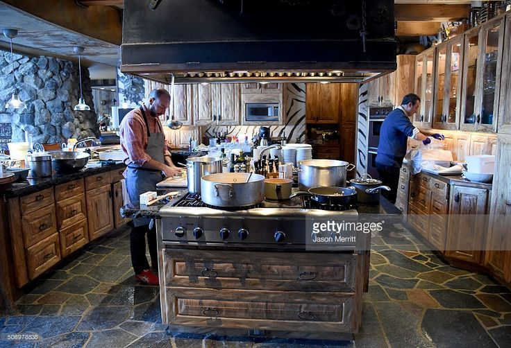 Chefs prepare food during Glamour's Women Rewriting Hollywood Lunch at Sundance Hosted By Lena Dunham, Jenni Konner and Cindi Leive on January 26, 2016 in Park City, Utah.