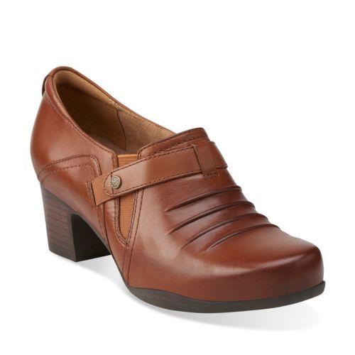Clarks Tarah Presley Mujeres US 7.5 Black Heels snsyjifl