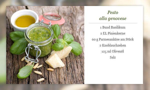 Rezept - Pesto Genovese
