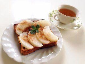 梨トースト
