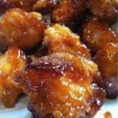 Sweet Hawaiian Crockpot Chicken 2 lb. Chicken breast chunked 1 cup pineapple juice ½ cup brown sugar ⅓ cup soy sauce Directions Add all ingredients to crockpot and cook on low 6-8 hours!