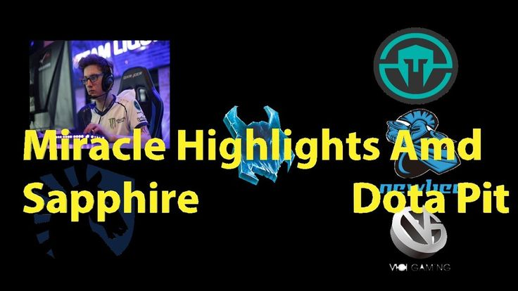 Miracle Highlights AMD SAPPHIRE Dota Pit Dota 2 KILLS Subscribe for more videos :https://www.youtube.com/channel/UCwLCaf7oK4WPAGJEk__T8qQ The AMD SAPPHIRE Dota PIT League is the sixth tournament by Dota Pit. Eight teams will fight for a $300,000 USD prize pool as well as qualification points for The International 2018[1]. The International 2017 finalists Newbee and Team Liquid are directly invited to the LAN Finals, which will be held at the Meridian Lav Hotel in Split, Croatia Amer…