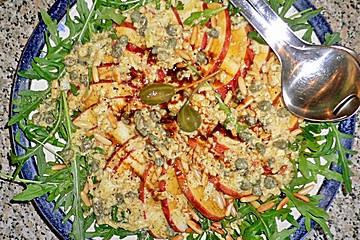 Apfel - Rucola Salat