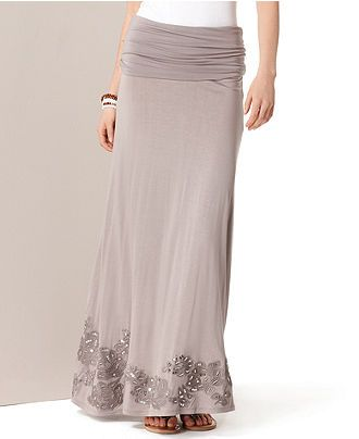 cute skirt for spring/summer, can also be worn as a maxi dress