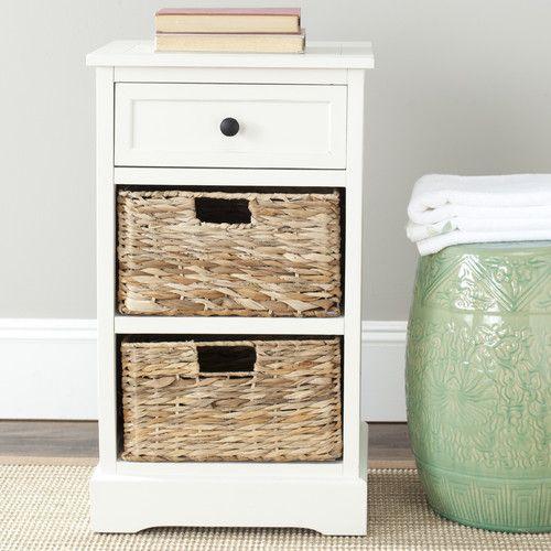 Safavieh Milan Storage End Table & Reviews | Wayfair