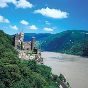 Cruise on the Rhine, Germany.