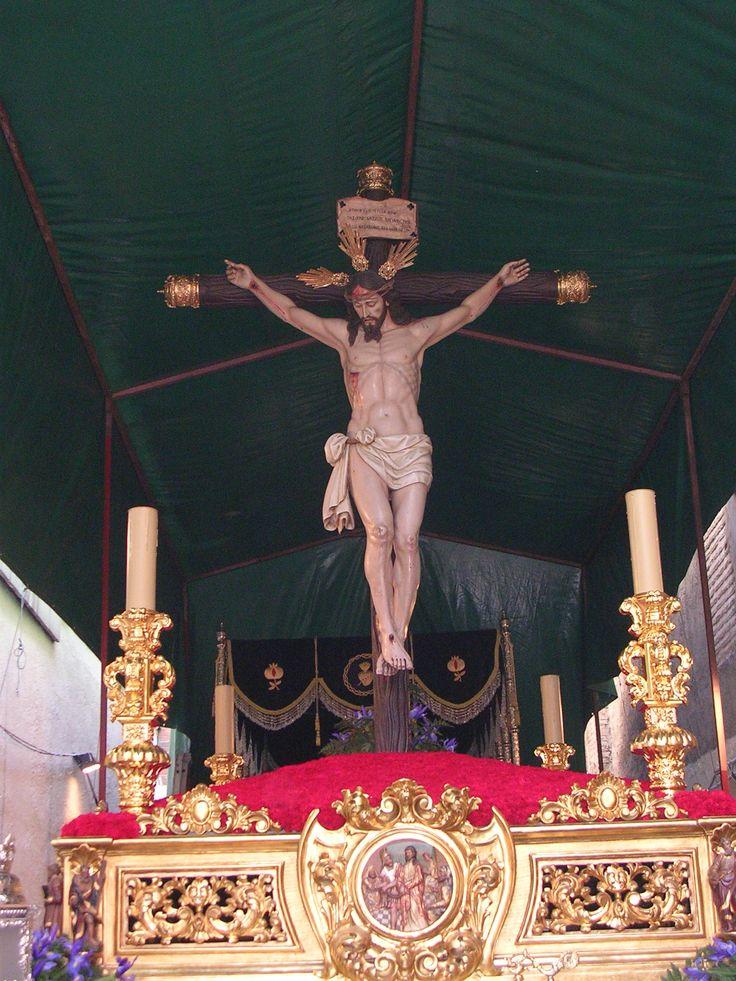 Cristo de la Buena Muerte. Cofradía de los ferroviarios