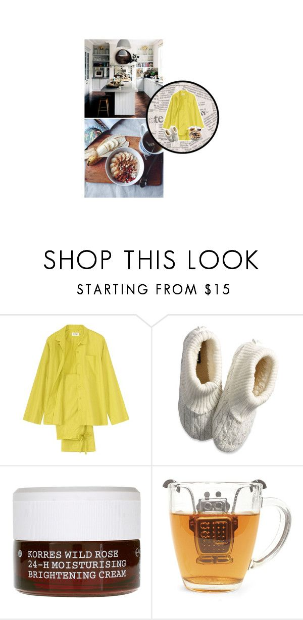 """Tenue #1083"" by amandine-bk ❤ liked on Polyvore featuring Toast, American Eagle Outfitters, Korres and Kikkerland"