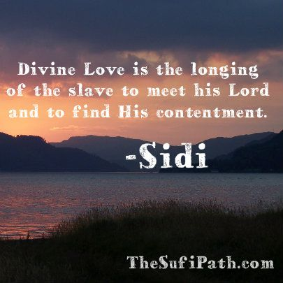 Divine Love Is The Longing Of The Slave To Meet His Lord And To Find Beauteous Divine Love Quotes