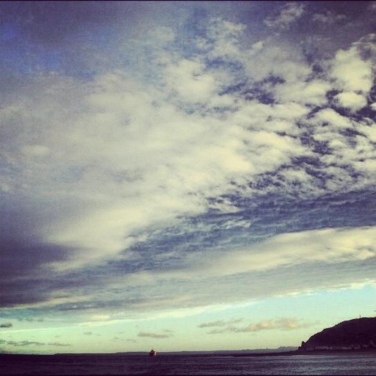 Mirando al sur desde puerto Montt