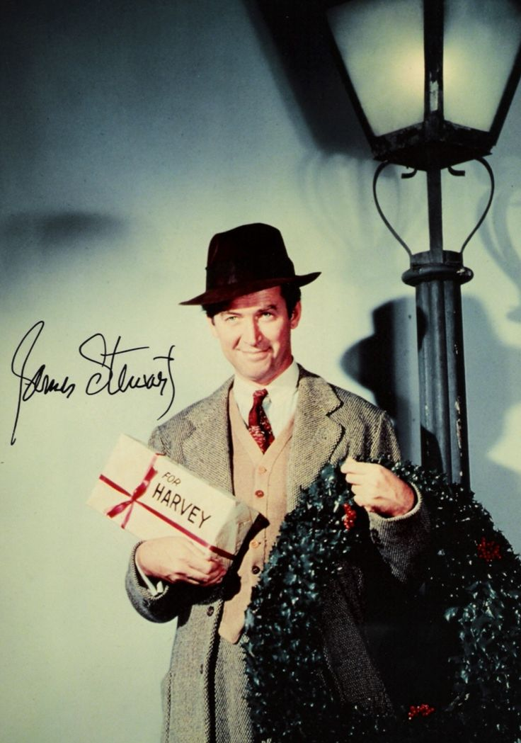 Jimmy Stewart & Harvey | Classic Old Hollywood Portraits ...