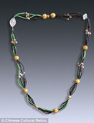 The thread holding the beads in necklace together had decomposed. But, 'since…