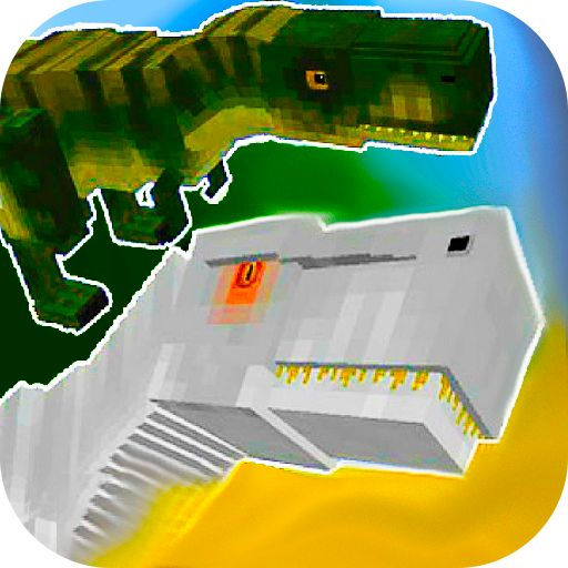Jurassic Craft MCPE Addon with Dinosaurs!