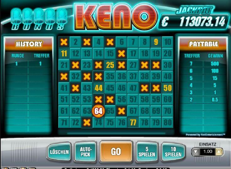 Es reicht schon aus, eine richtige Zahl zu erraten! http://www.spielautomaten-online-spielen.de/spiele/bonus-keno-online-slot #spielautomaten #bonuskenoonline #spiele
