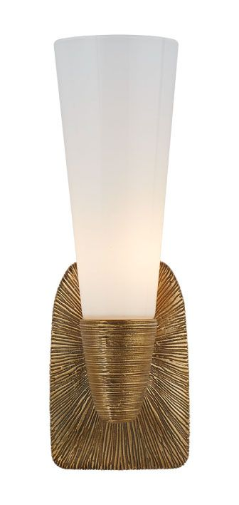 Charming KELLY WEARSTLER | UTOPIA SMALL SINGLE BATH SCONCE. Features Topographic And Organic  Forms In Gild. Modern LightingLighting ...