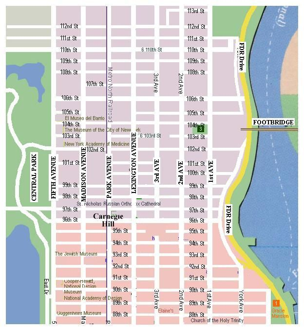 Printableshoppingmapofnewyorkcity  New York City