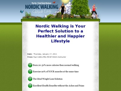 Nordic Walking Made Easy