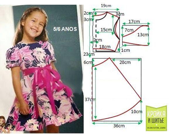 Resultado de imagen para vestidos floreados para ninas de 6 a 8 años 2017