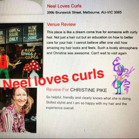 NEEL LOVES CURLS received a lovely review yesterday for Christine👩🏼 . We have loads of evidence what we do in our salon on here/the blog /Facebook . Our curly cuts aren't made to be worn straight . We don't do fake curls or perms . We want to teach you some new things about your natural hair so come in ready to learn! We are at 399 b Brunswick street Fitzroy Melbourne ! #modernsalon #behindthechair #curlyhairspecialistmelbourne #curlyhairspecialist #neellovescurls #neellovescurlssalon…