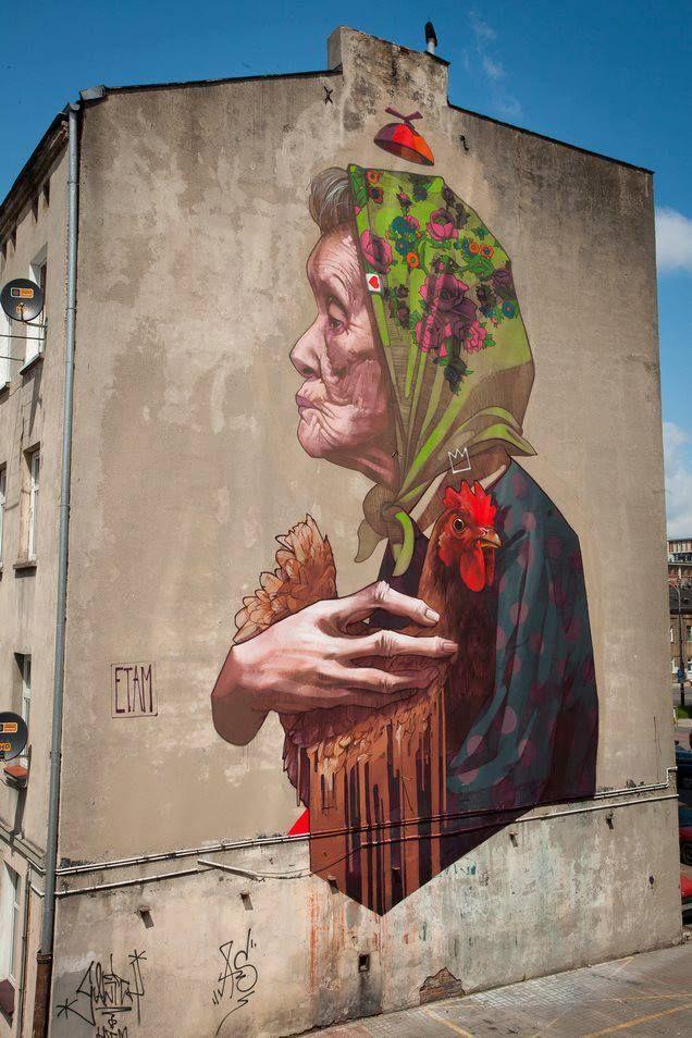 Polska -  woman of street artopia