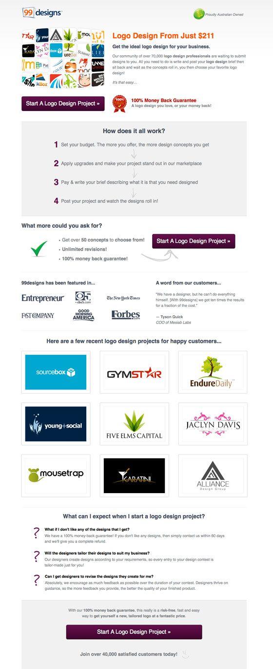 13 best Landing Pages images on Pinterest Design web, Design - lpo template word