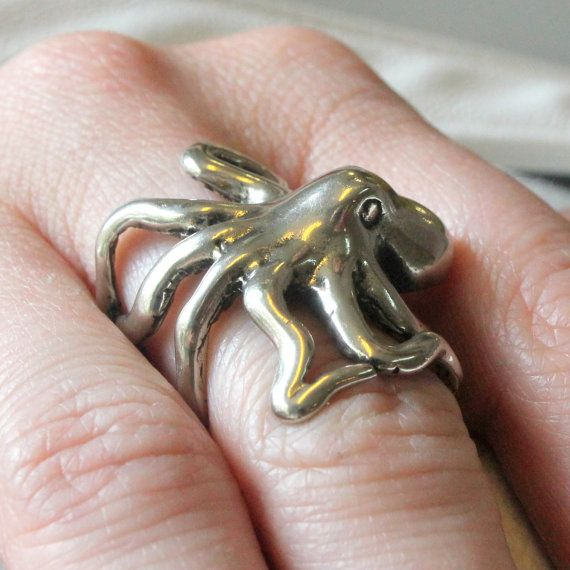 Octopus Ring | 47 Intensely Delightful Pieces Of Animal Jewelry