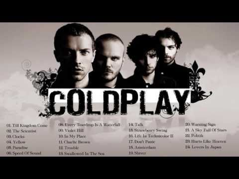 Coldplay Best Song    Coldplay Greatest Hits 2016 - YouTube