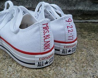 Bruiloft sneakers   Etsy