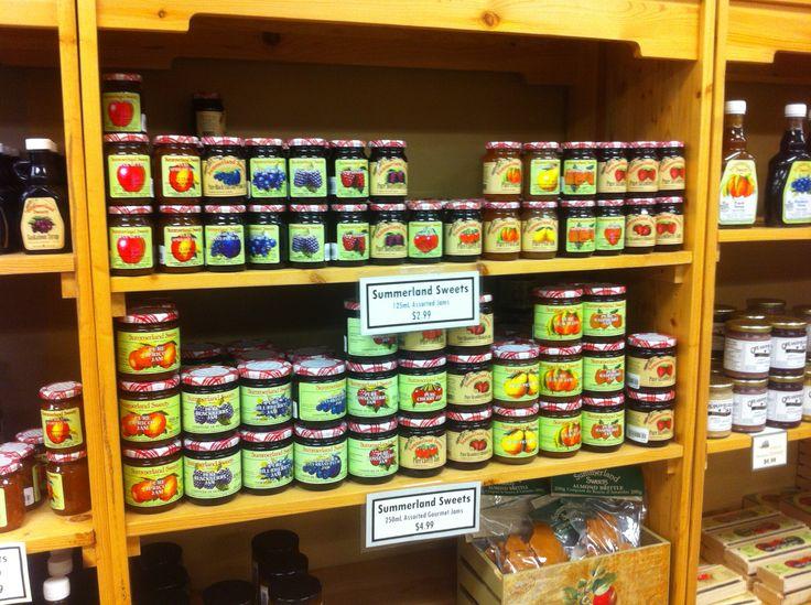 Summerland Sweets Assorted Gourmet Jams