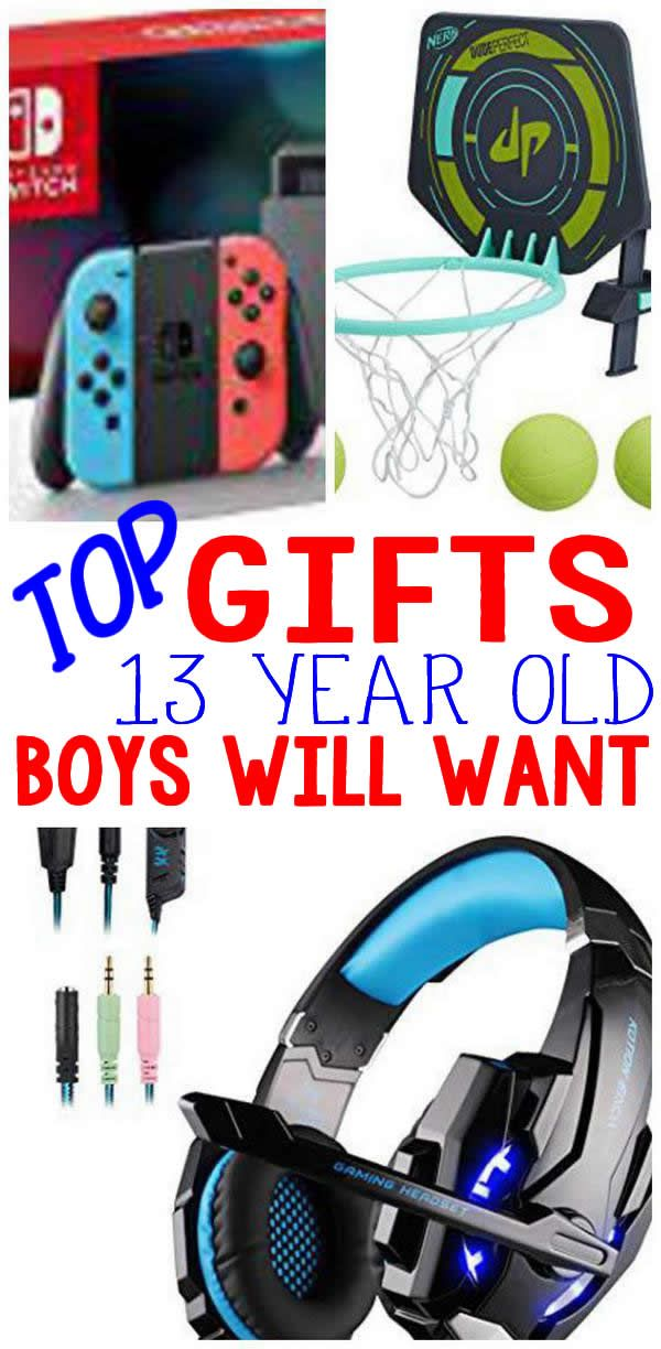 Looking For The Ultimate Gift That Sometimes Hard To Shop 13 Year Old Boy Here Are Some Of Best And Most Popular Gifts A Boys 13th Birthday
