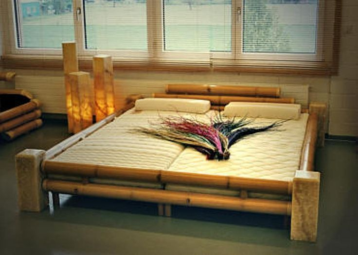 Bamboo Bed Frame Queen Idea : Natural Bamboo Bed Frame Price – Bed ...
