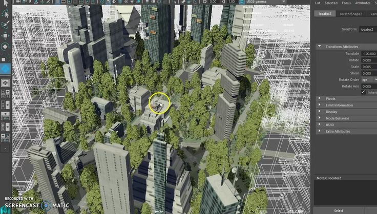 Siggraph 2016 preview: SceneHub_City_Maya_Demo on Vimeo