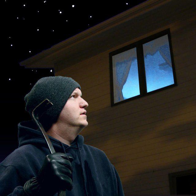 Fake TV Burglar Deterrent Light