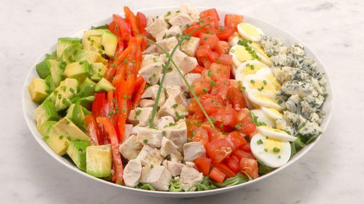 Cobb-Style Turkey Salad