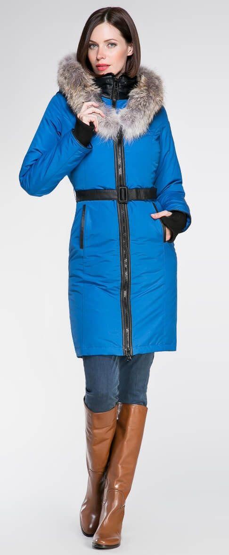 Regina parka Royal blue | Made in Canada | Arctic Bay ®