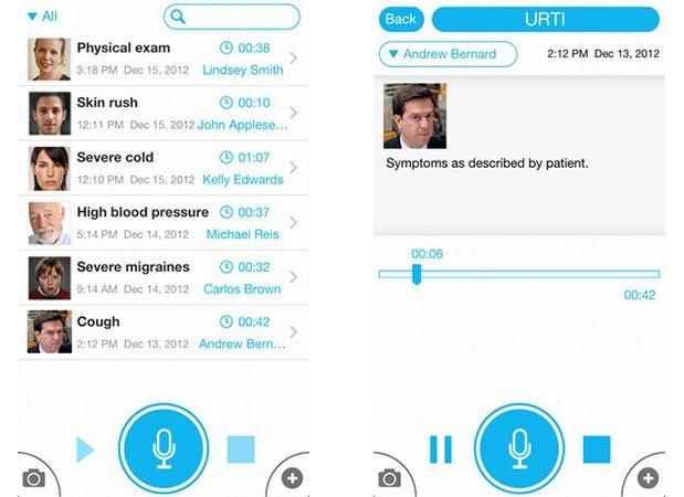 """La tecnologia corre in aiuto dell'anamnesi medica. #MedicalRecorder consente a dottori e studenti di #medicina e chirurgia di sfruttare il proprio #iPhone per integrare le proprie visite """"2.0"""" con immagini, appunti testuali e note vocali."""